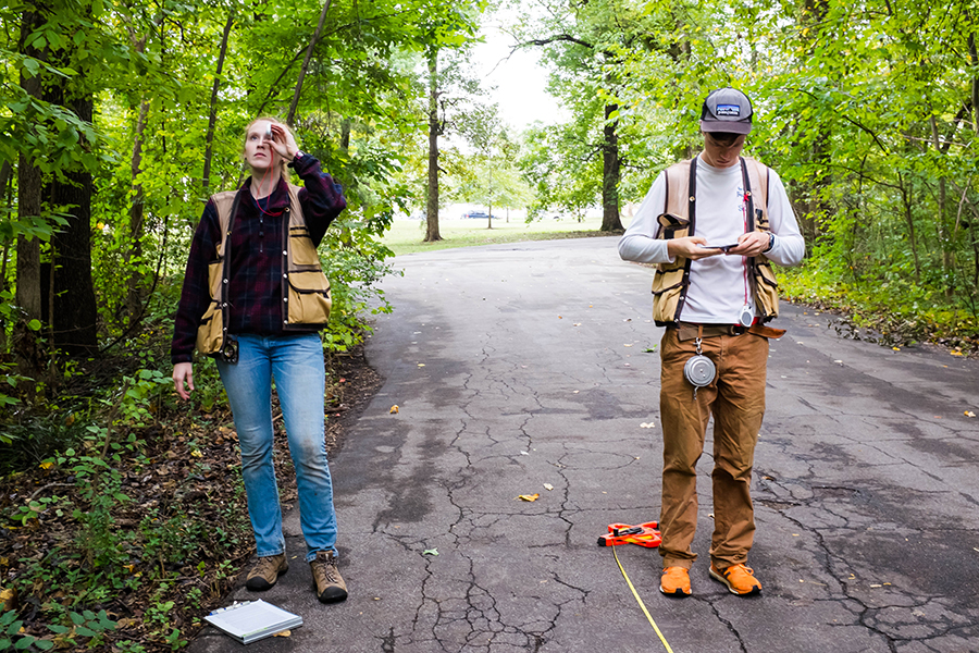how to use a clinometer forestry